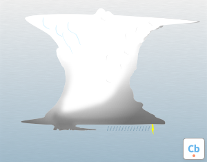 A graphical illustration of the cloud feature 'Cauda'