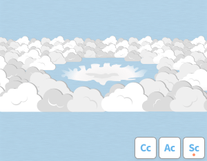 A graphical illustration of the cloud feature 'Cavum'