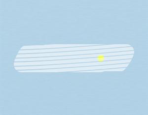 A graphical illustration of a cirrostratus fibratus cloud