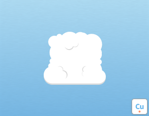 A graphical illustration of the cloud species 'Mediocris'