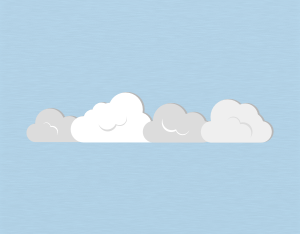A graphical illustration of a stratocumulus cloud