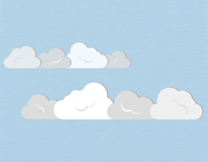 A graphical illustration of a stratocumulus duplicatus cloud