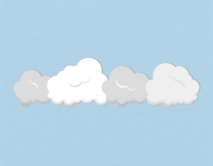 A graphical illustration of a stratocumulus mamma cloud