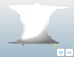 A graphical illustration of the cloud feature 'Tuba'